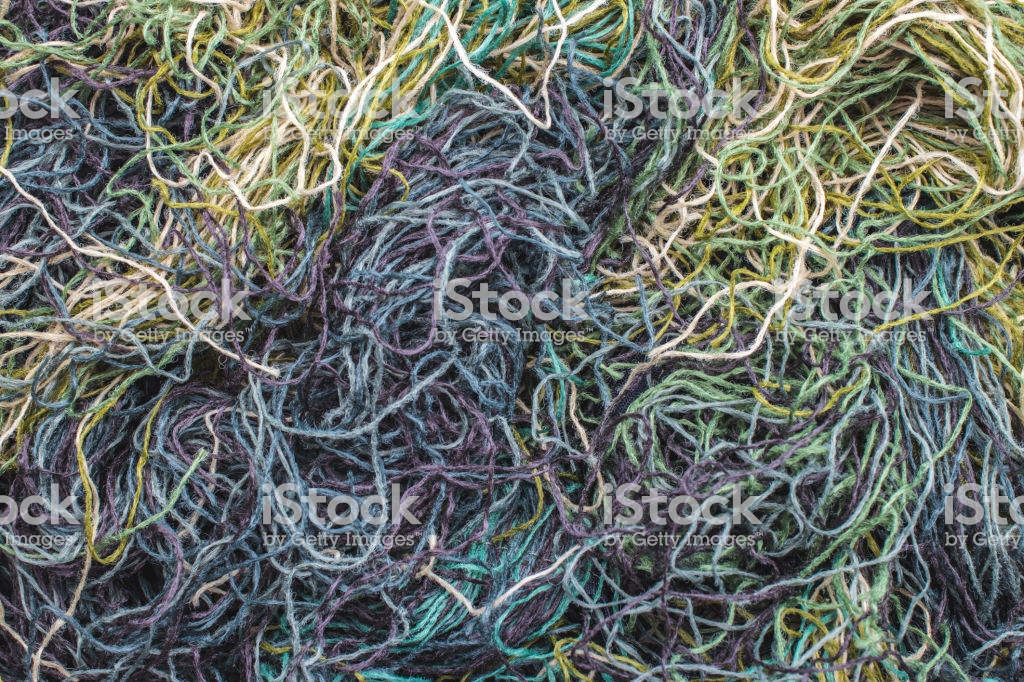 Background Of Colored Threads Chaotically Intertwined Green Yellow 1024x682