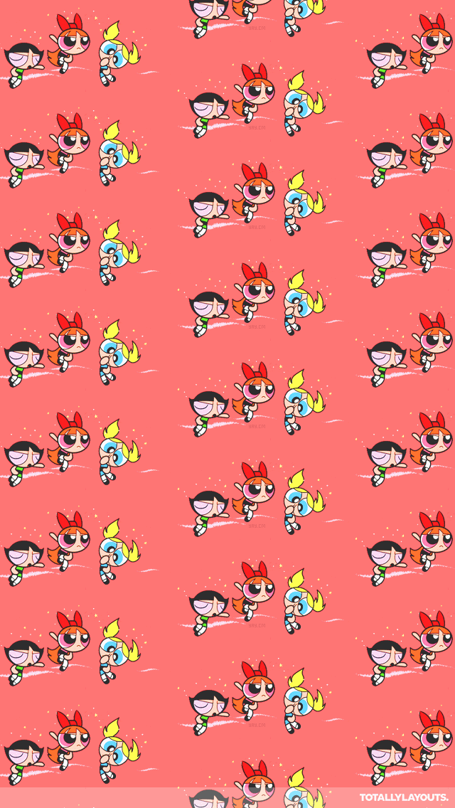 Powerpuff Girls IPhone Wallpaper
