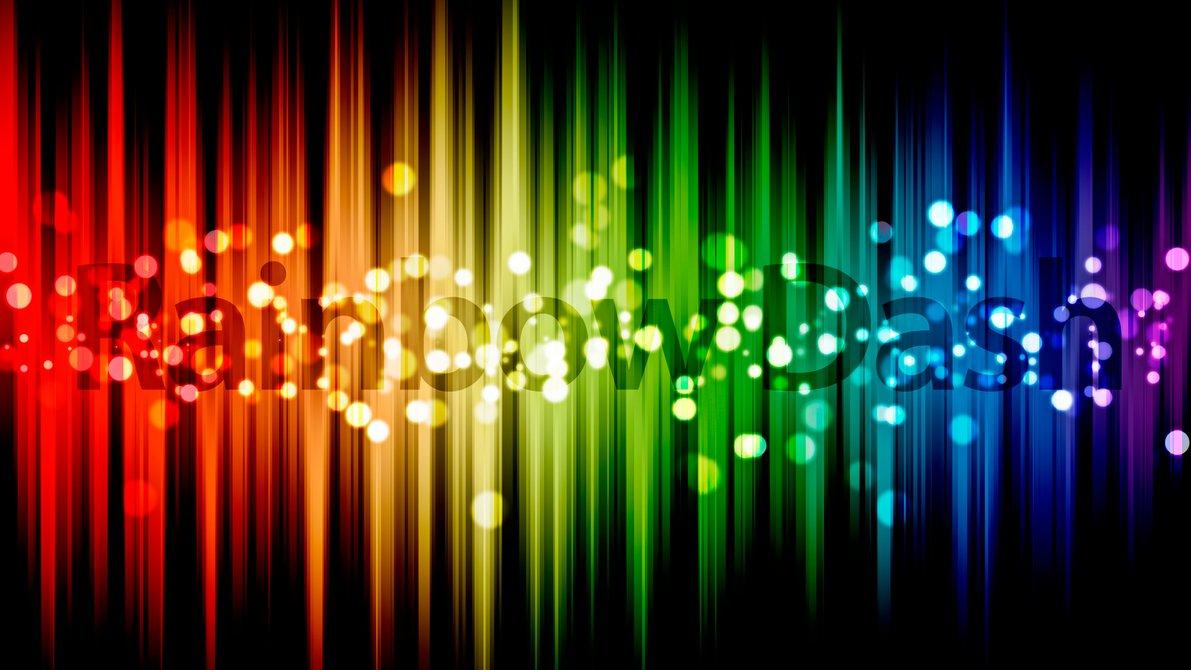 Rainbow Dash Name Wallpaper by alanfernandoflores01 1191x670