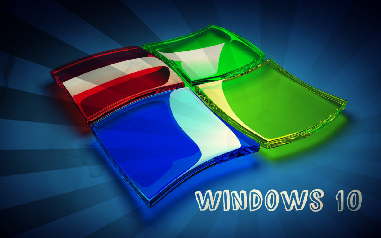 Download now 3D Windows 10 Logo Hd Wallpaper Read description infos 1228x768