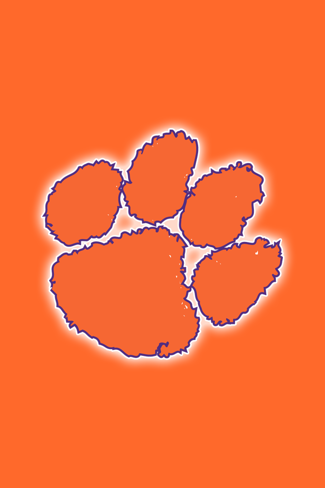 Clemson Tigers iPhone Wallpapers Install in seconds 18 to 640x960