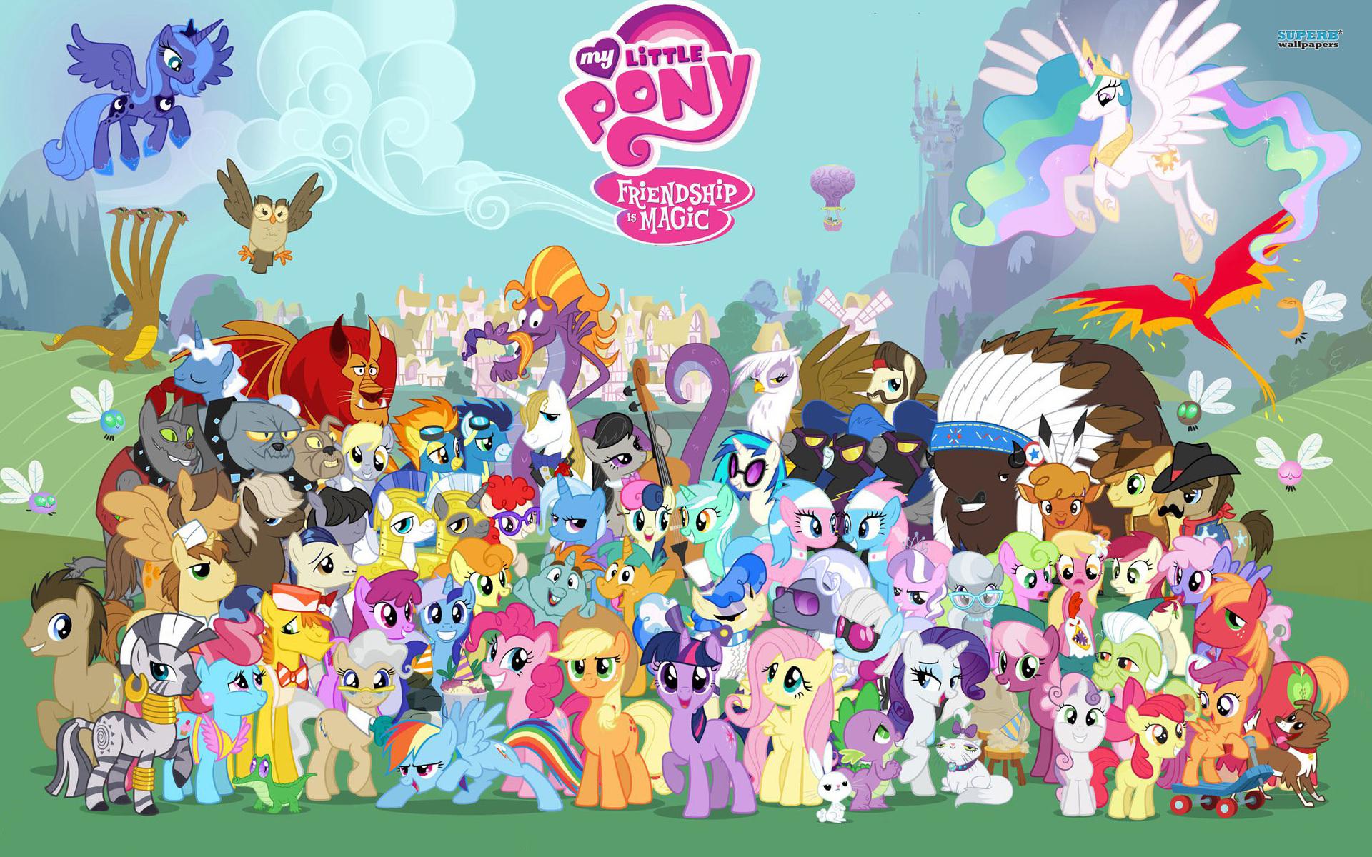 My Little Pony Desktop Wallpaper