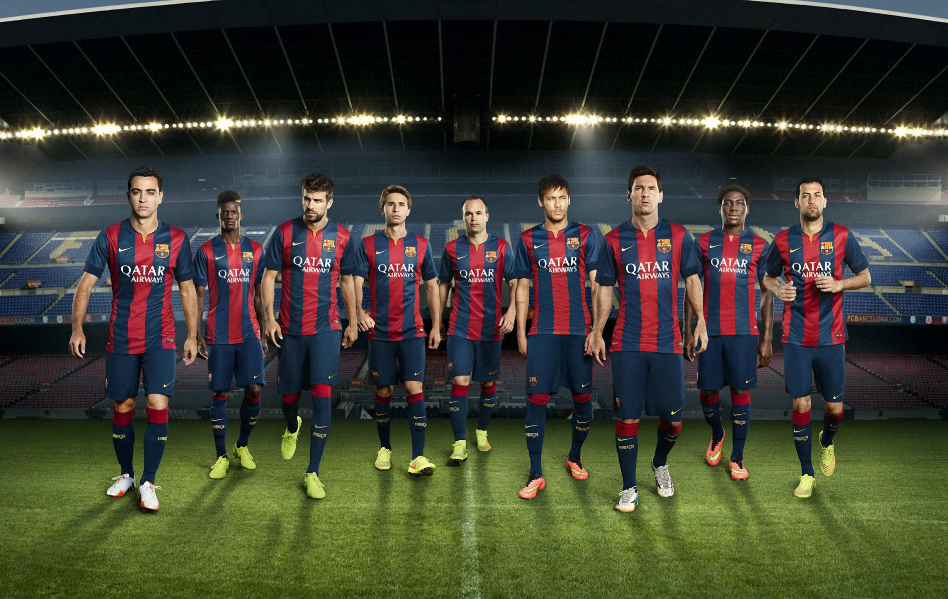 FunMozar Fc Barcelona Team Wallpapers 1900x1200