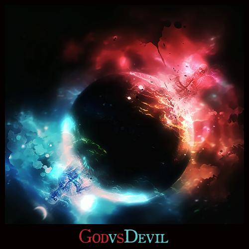 God Vs Devil Wallpaper God vs devil by biiel
