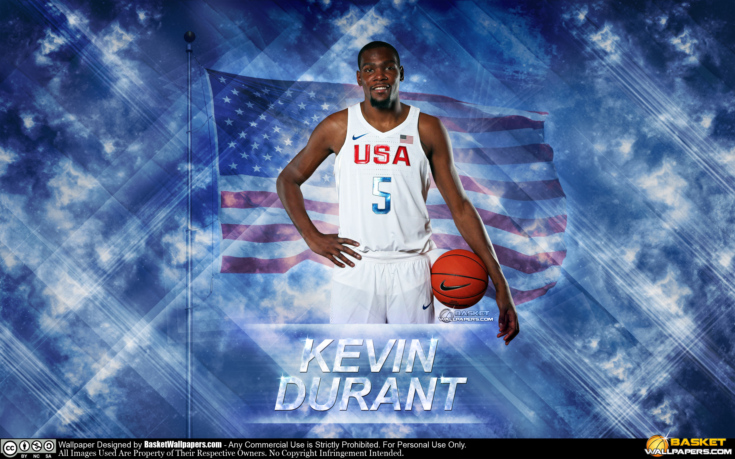Kevin Durant USA 2016 Olympics Wallpaper Basketball 2560x1600