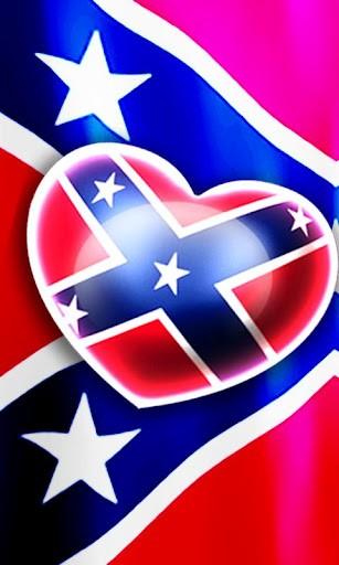View bigger   Love Rebel Flag Live Wallpaper for Android screenshot 307x512