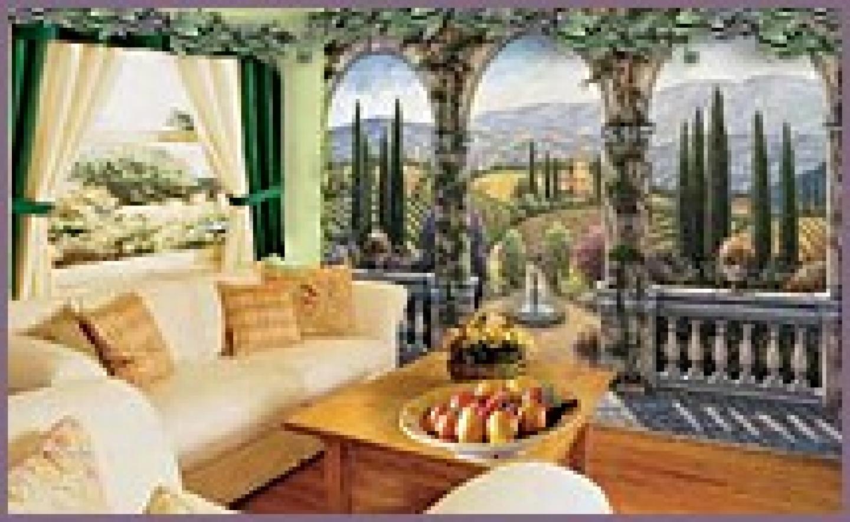 Old World Tuscan Wallpaper Wallpapersafari