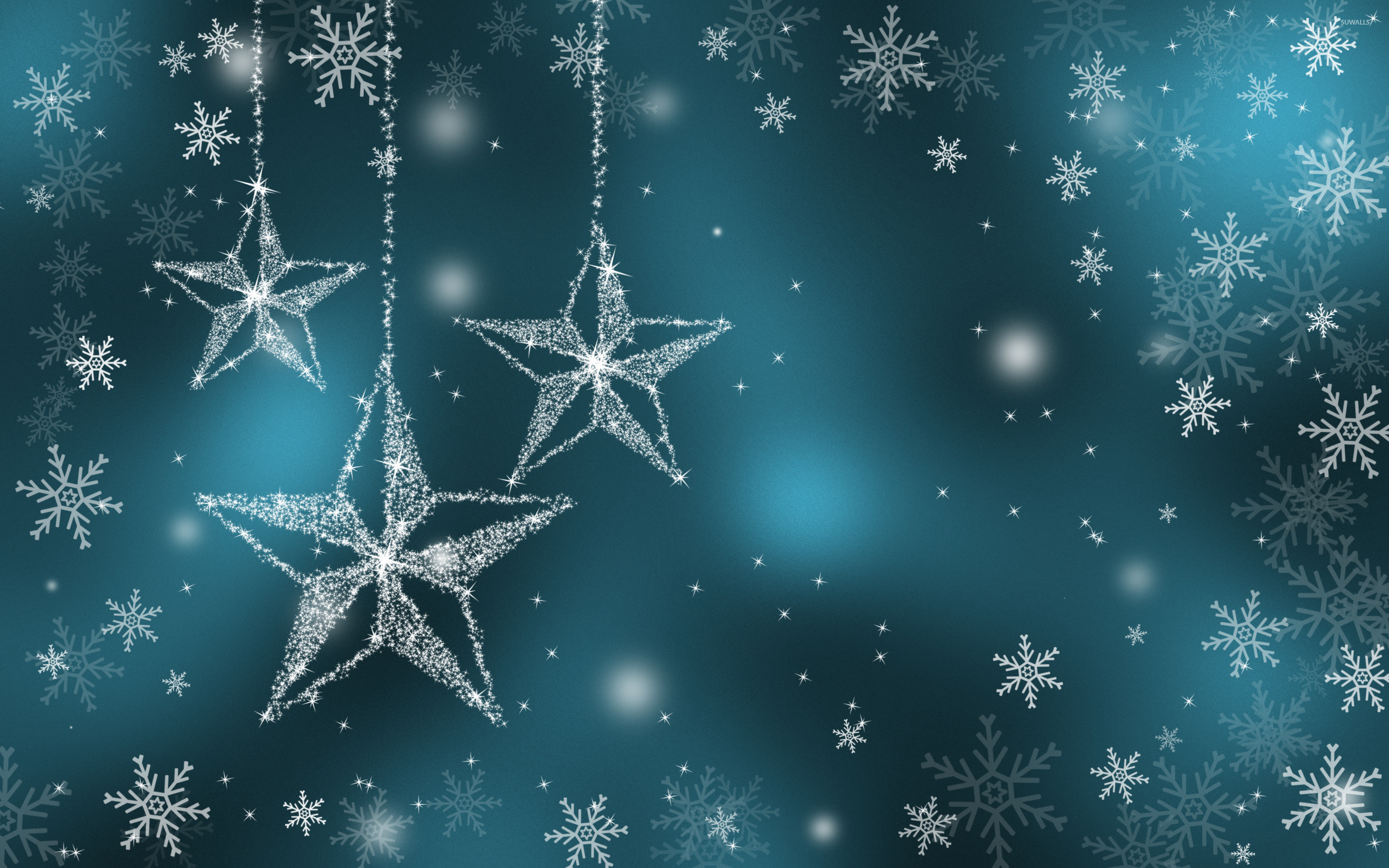 Sparkling stars wallpaper   Holiday wallpapers   25820 2880x1800