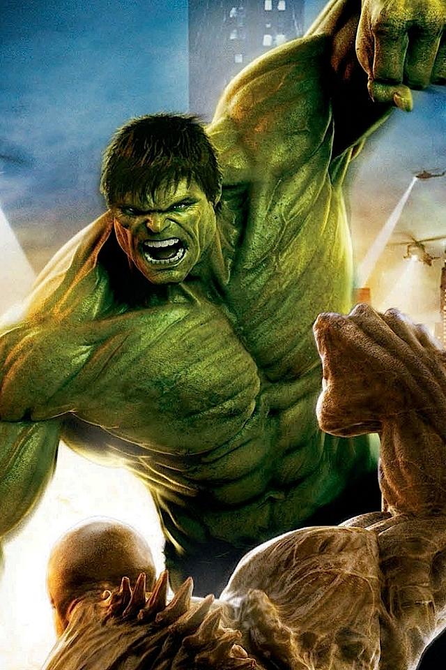 Wallpaper 3d Hulk