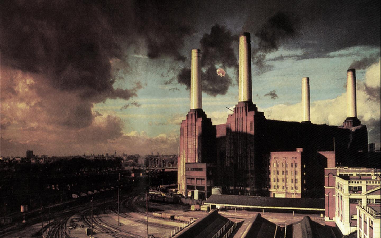 Pink Floyd Wallpaper 1440x900 Pink Floyd Animals Battersea Pig 1440x900