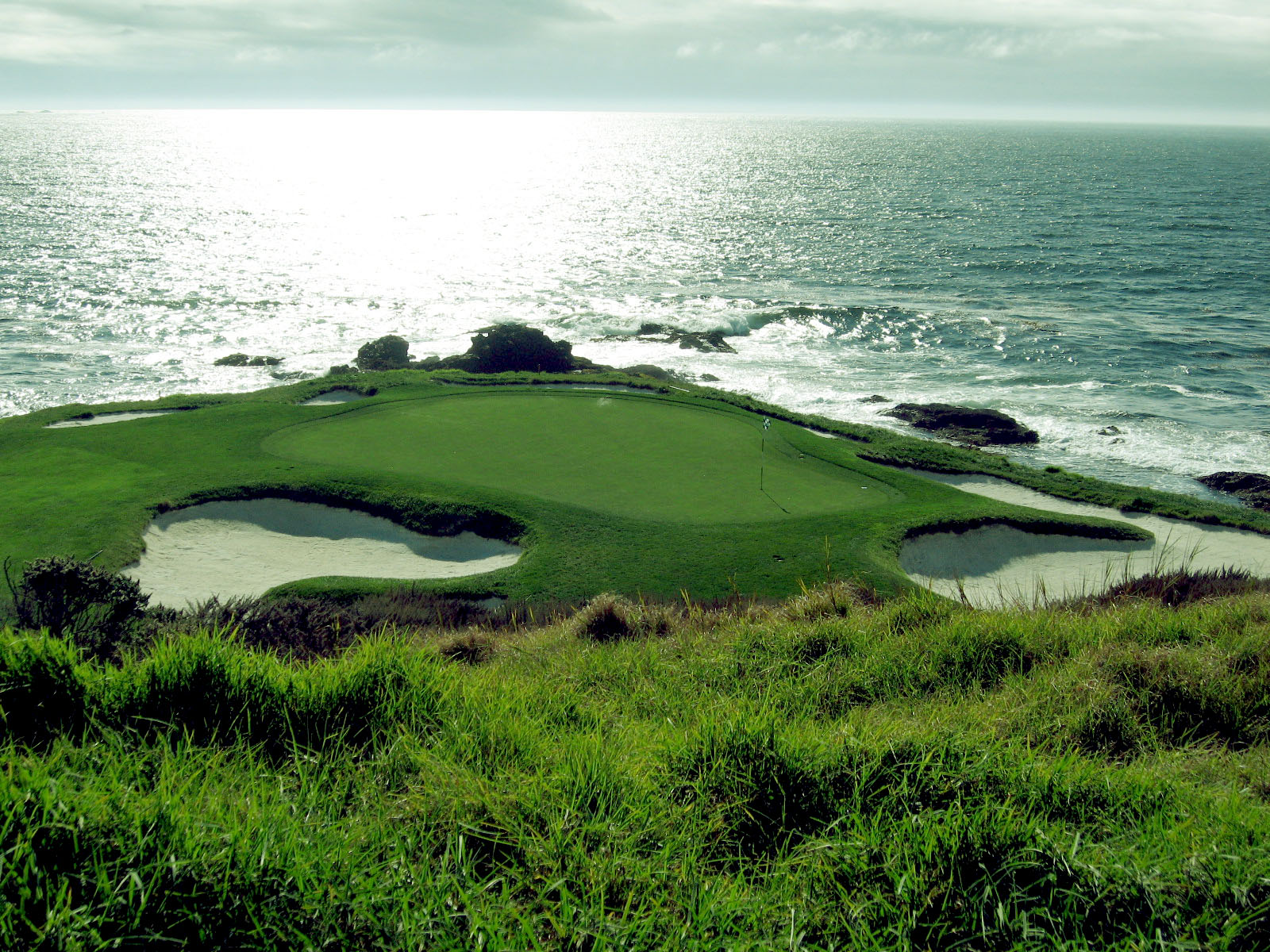 Pebble Beach Golf Course Desktop Wallpaper 1600x1200