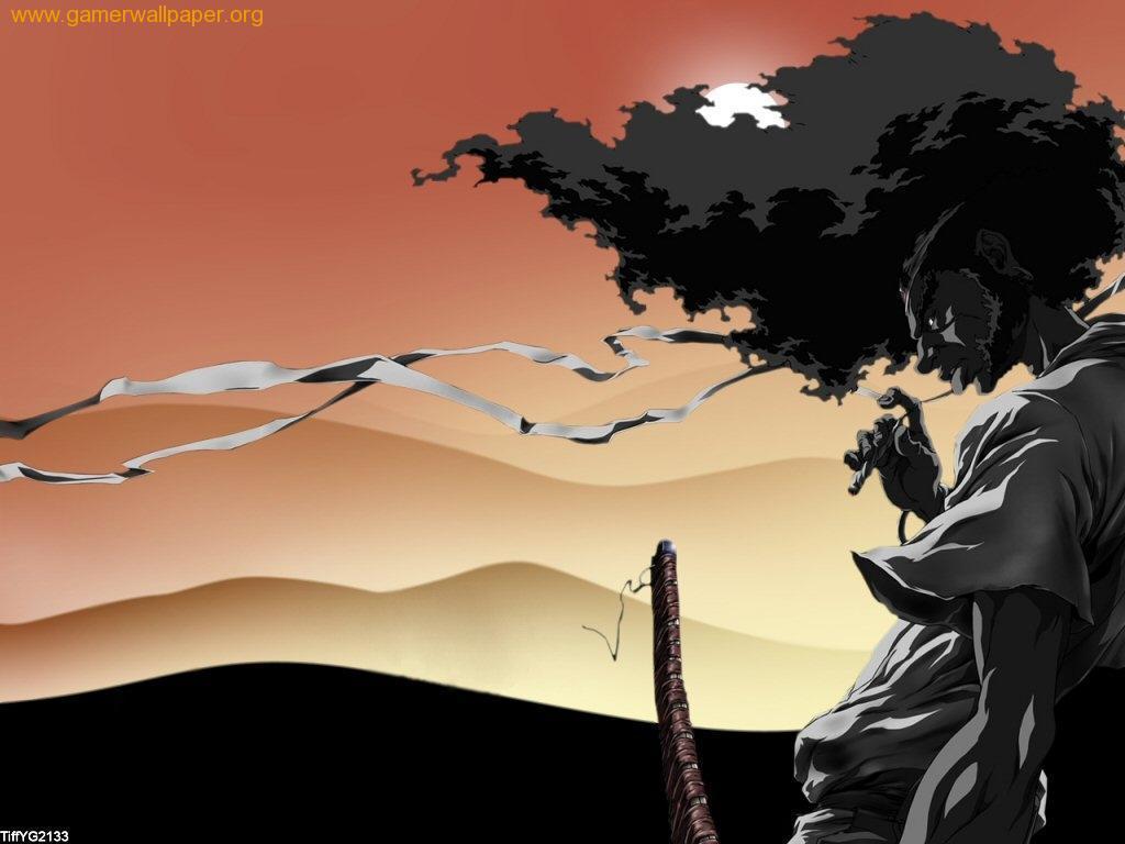 Afro Samurai Wallpaper Afro Afro Samurai Wallpaper 1024x768
