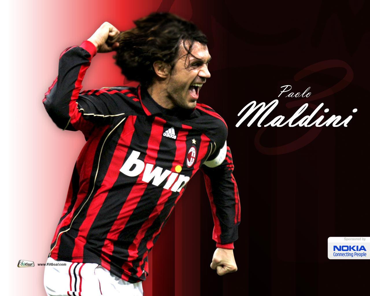Paolo Maldini Legend   Paolo Maldini Wallpaper 1306377 1280x1024