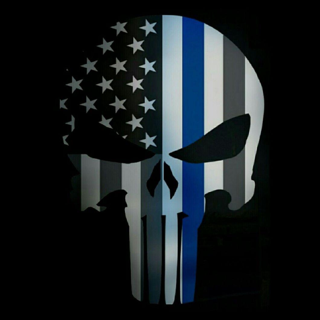 1060x1060 Punisher Law Enforcement Wallpaper Gendiswallpapercom 1060x1060
