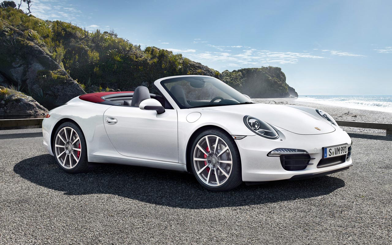 2012 porsche 911 carrera s cabriolet hd widescreen wallpapers 1280x800 1280x800
