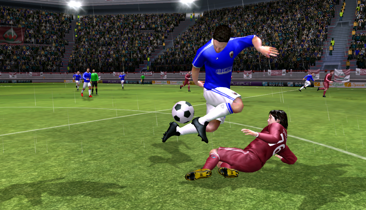 screenshot Dream League Soccer 2020 Galatasaray App Apk 1280x736