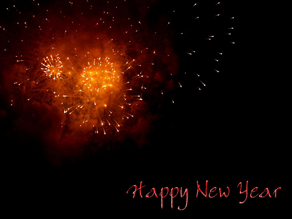 Happy New Year Wallpapers amp Backgrounds Download 1024x768