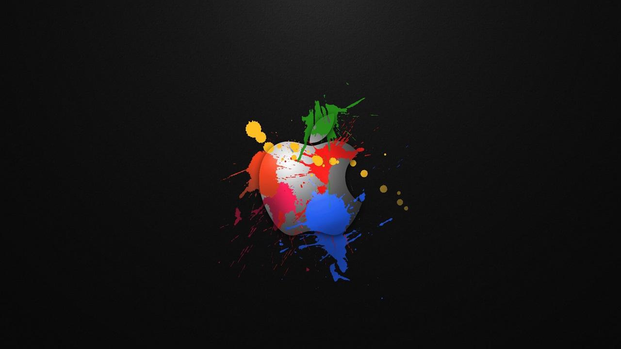 172a3c468f8 Apple Graffiti Wallpaper Graffiti apple logo wallpapers 1280x720