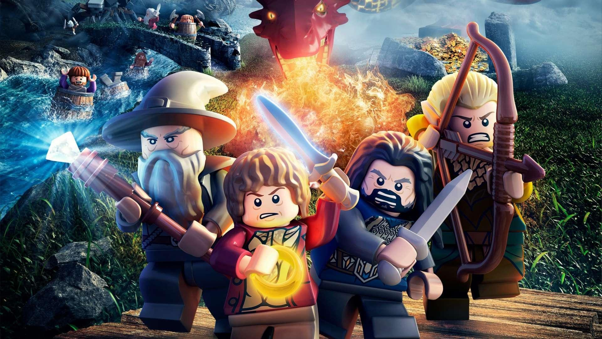 Download Lego The Hobbit Game HD Wallpaper 1080p HDWallWidecom 1920x1080