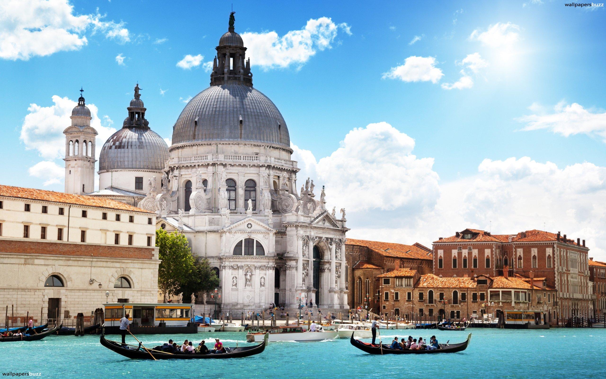 Venice River HD Wallpaper 2560x1600