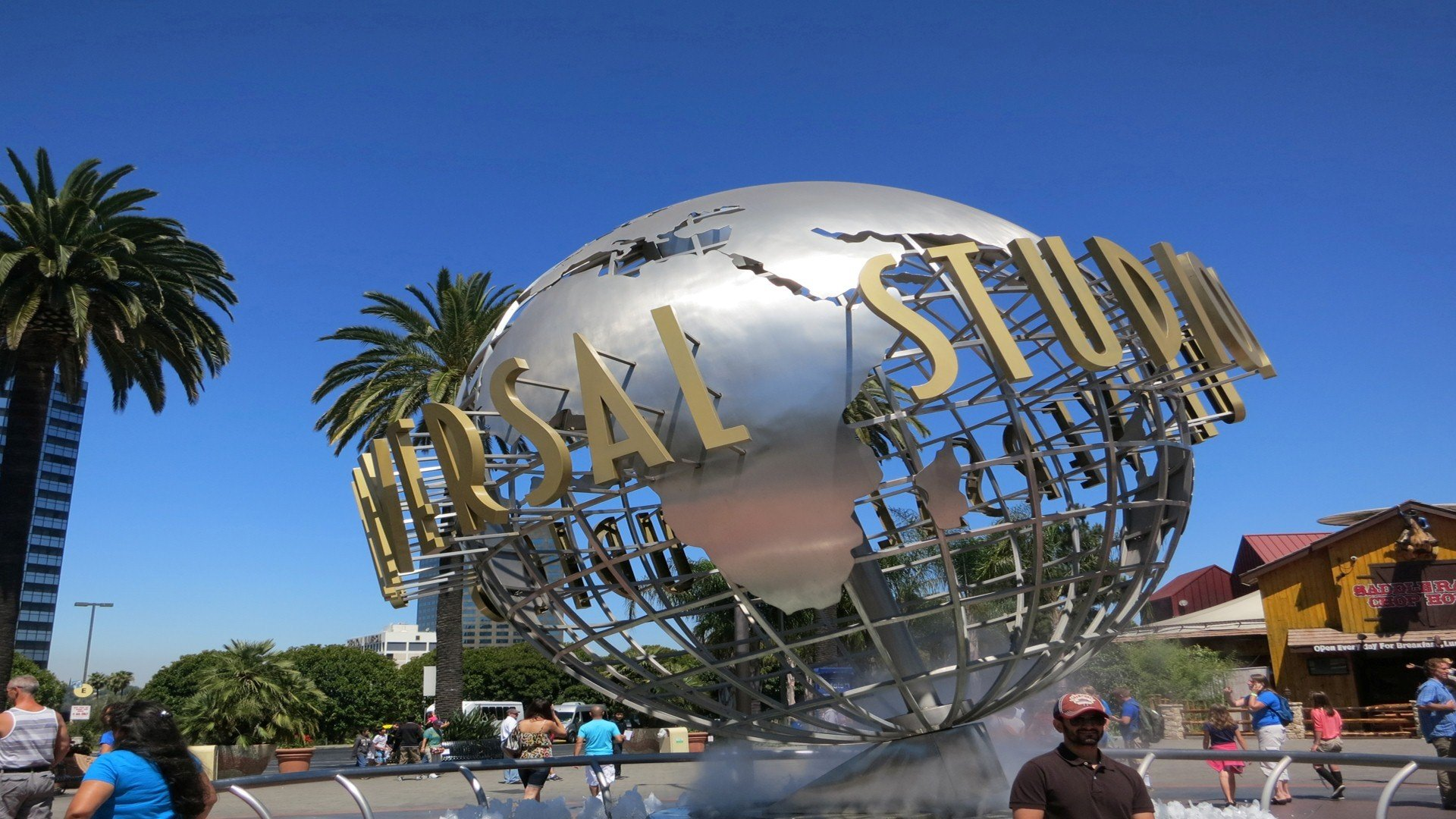 Universal Studios Hollywood Theme Park in California HD Wallpapers 1920x1080