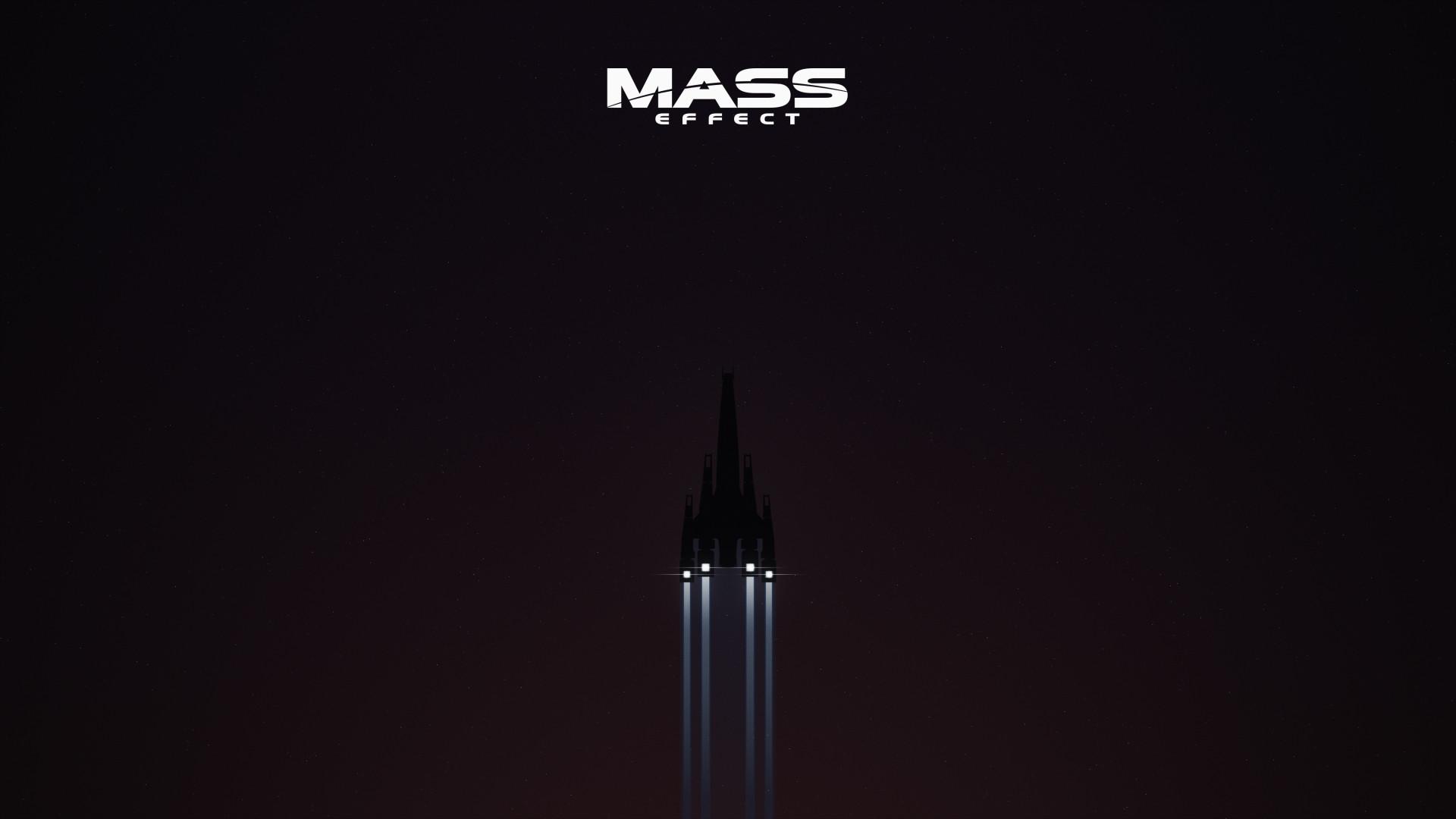 art work Mass Effect Mass Effect Wallpaper ME minimalist Reddit Super 1920x1080