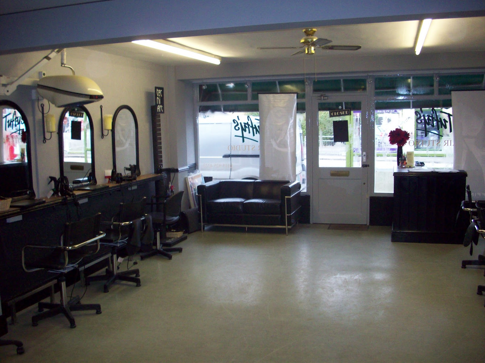 Hair Salon Wallpaper Tuftys hair salon in chilwell 1600x1200