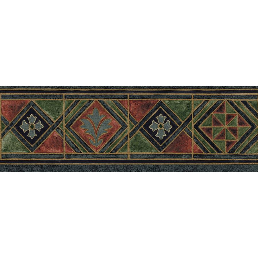 Sanitas 6 78 Moroccan Tile Prepasted Wallpaper Border at Lowescom 900x900