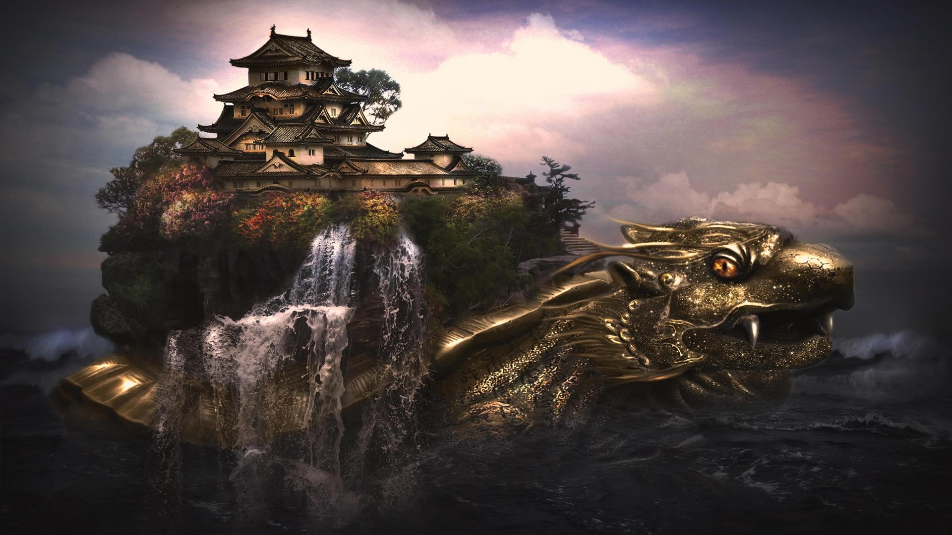 Fantasy wallpaper of the week 9   3D FantasyCoolvibe Digital Art 1920x1080