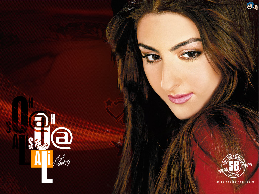 Soha Ali Khan HD Wallpaper ImageBankbiz 1024x768