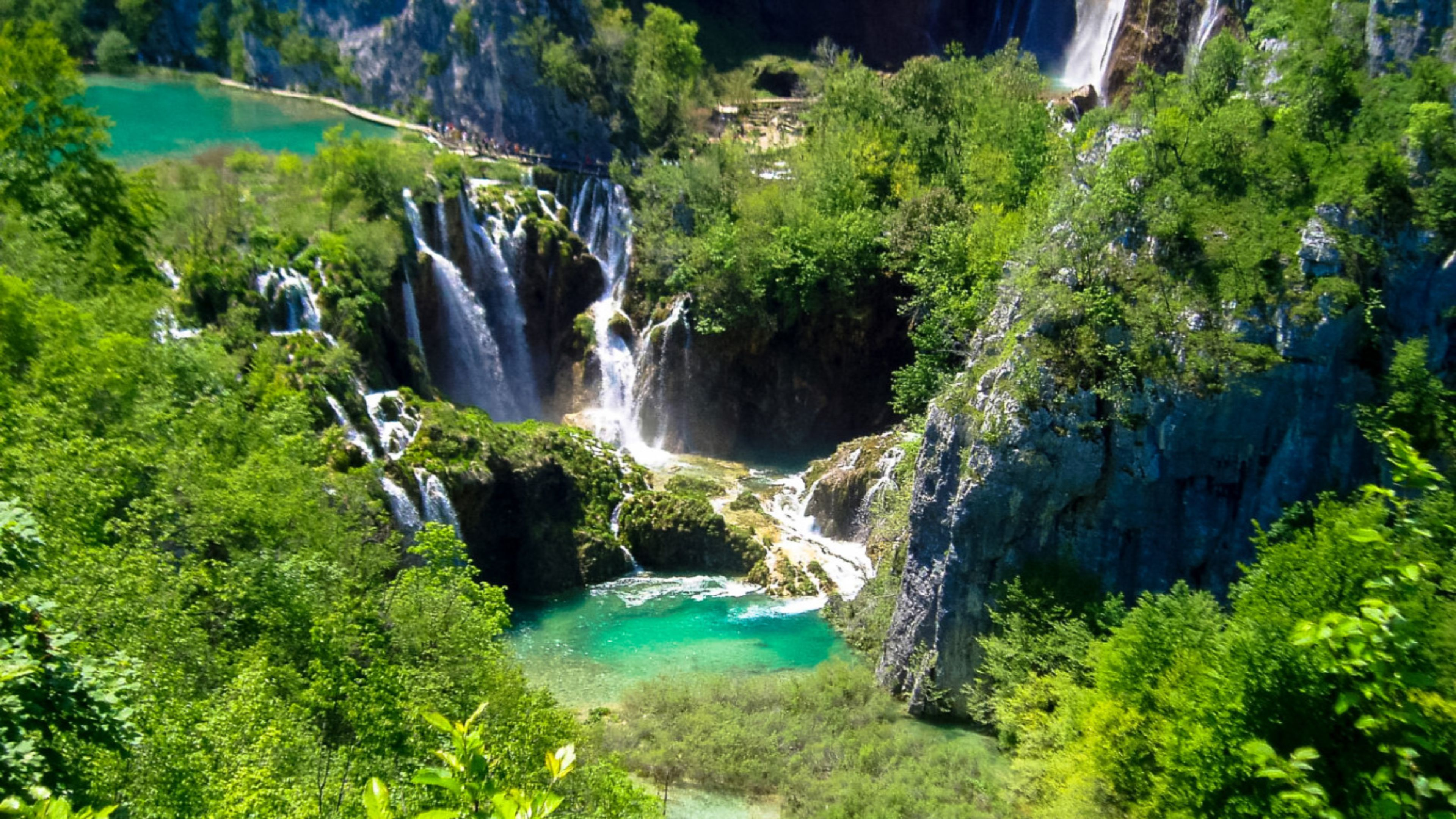 Plitvice lake Wallpapers and Background Images   stmednet 3840x2160