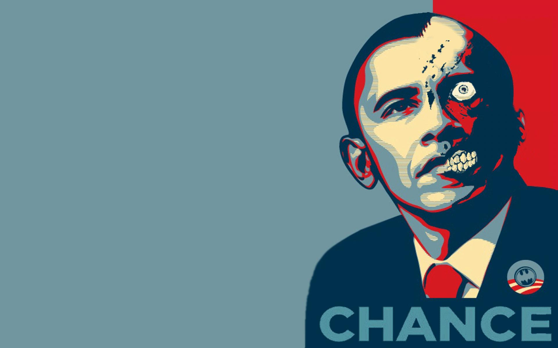Barack obama two face crossovers presidents wallpaper HQ WALLPAPER 1920x1200