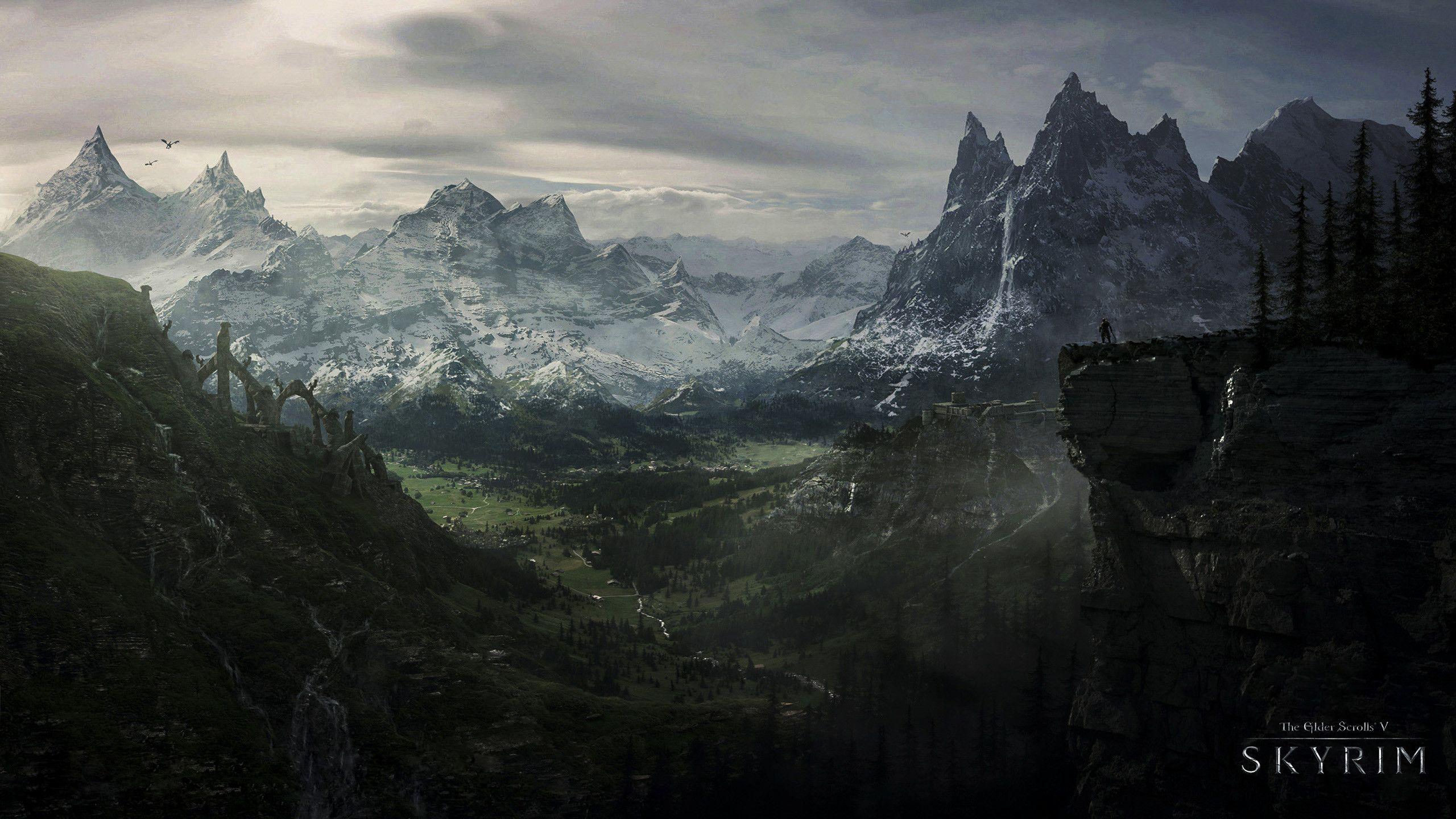 Skyrim 4K Wallpapers   Top Skyrim 4K Backgrounds 2560x1440