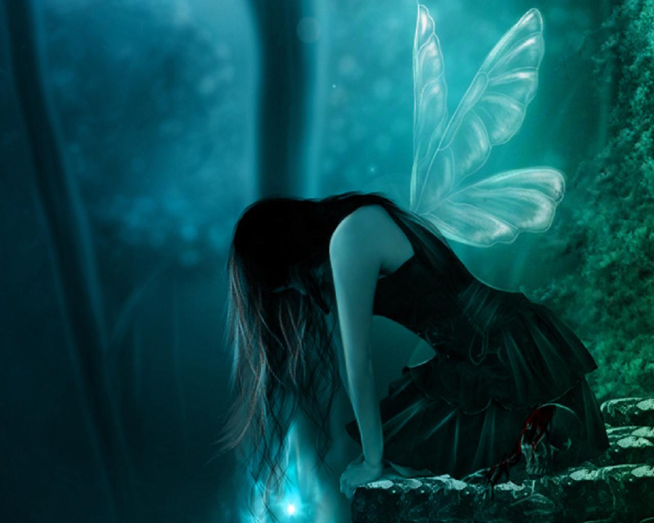 Dark fairy   130185   High Quality and Resolution Wallpapers on 1280x1024