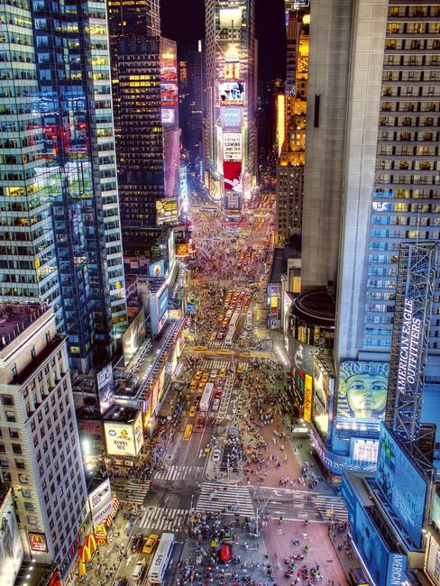 Times Square Renaissance   Wall Mural Photo Wallpaper   Photowall 488x650