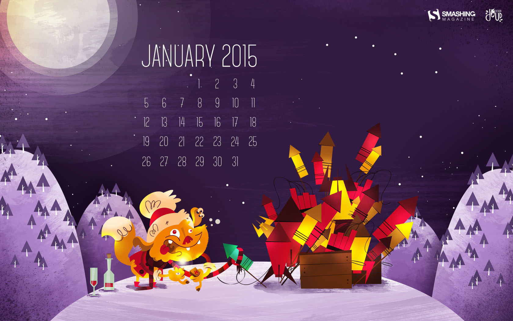 Desktop Wallpaper Calendars January 2015 Smashing Magazine 1680x1050