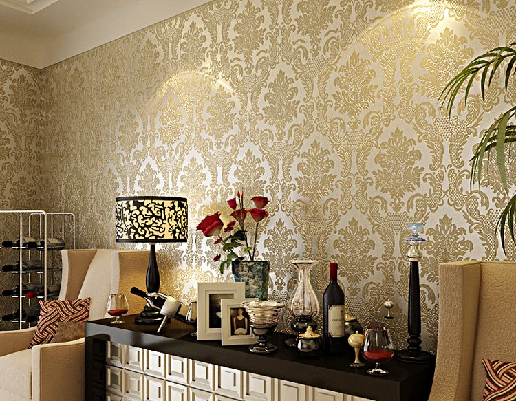 Wallpaper European Style Covering Home Decoration