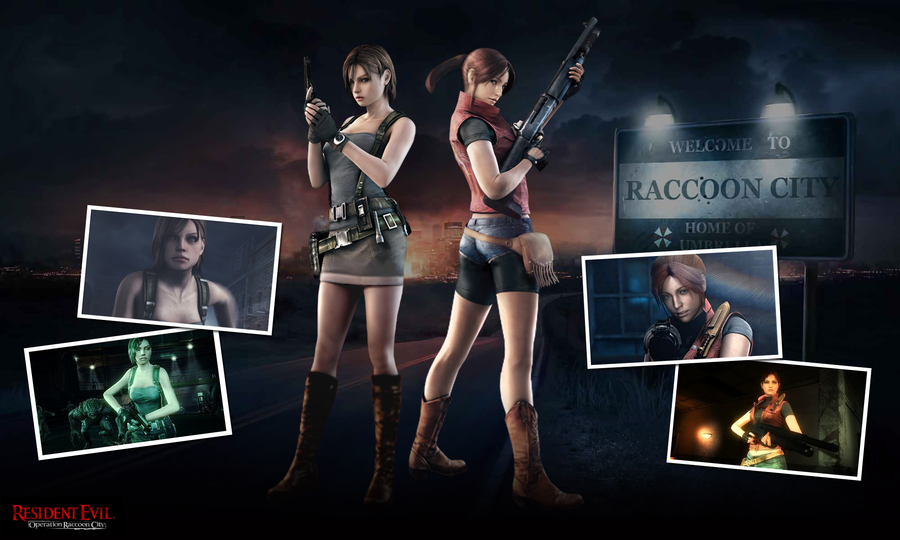 RE ORC Claire Redfield and Jill Valentine by SpeedyRedy 900x540