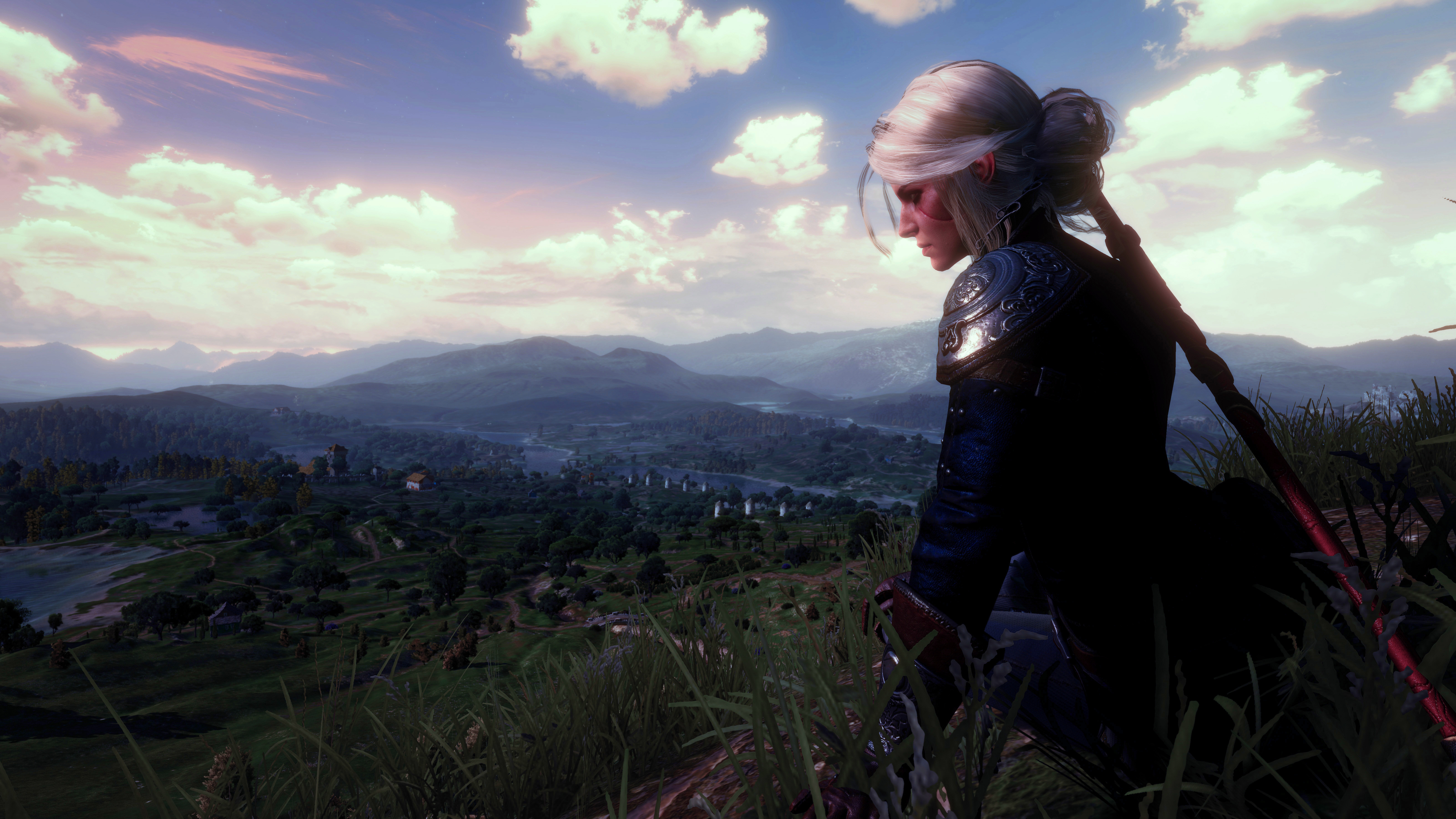 Free Download Ciri Witcher 3 Wild Hunt Wallpaper Hd Games 4k