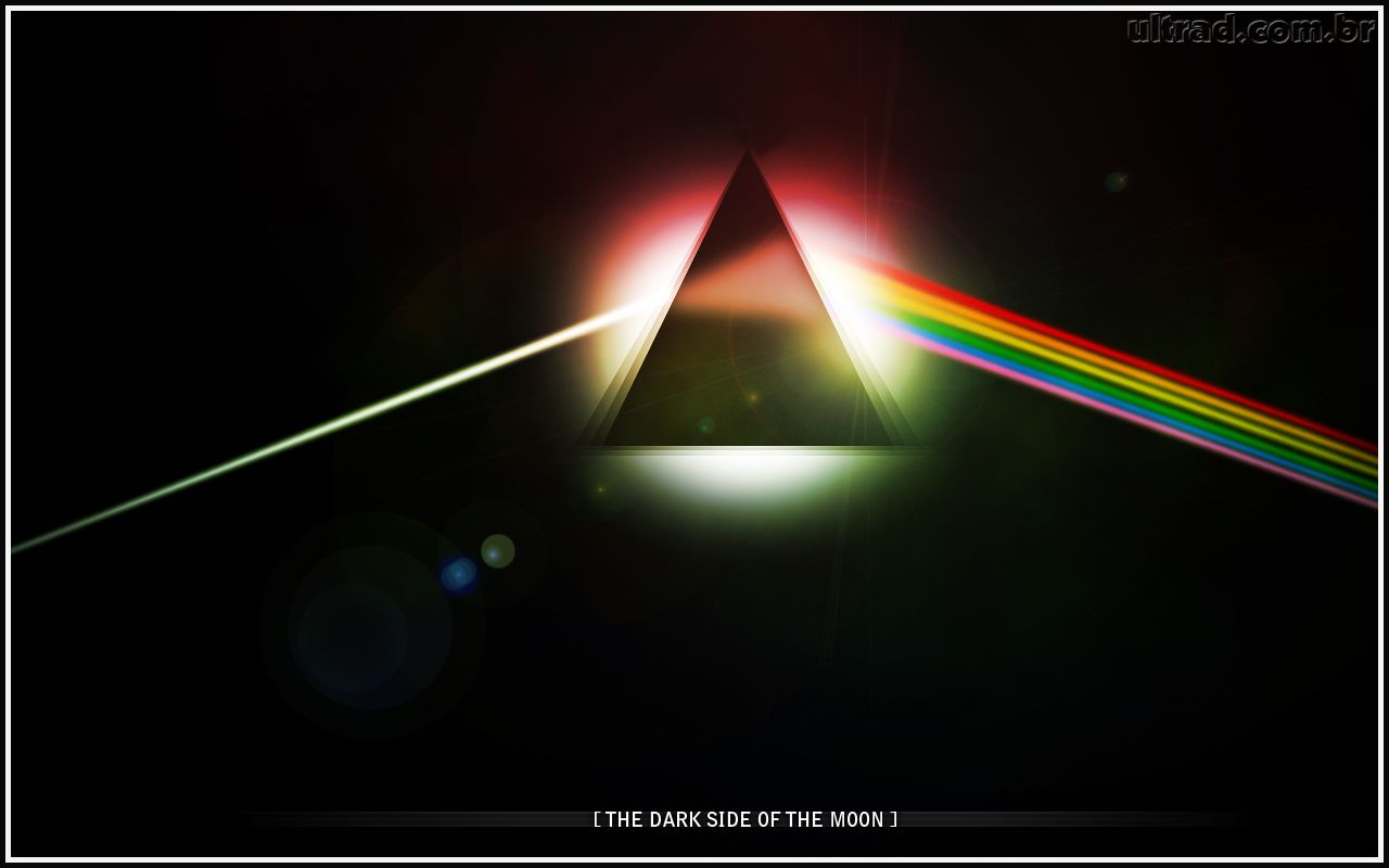 Papel de Parede The Dark Side of The Moon 1280x800
