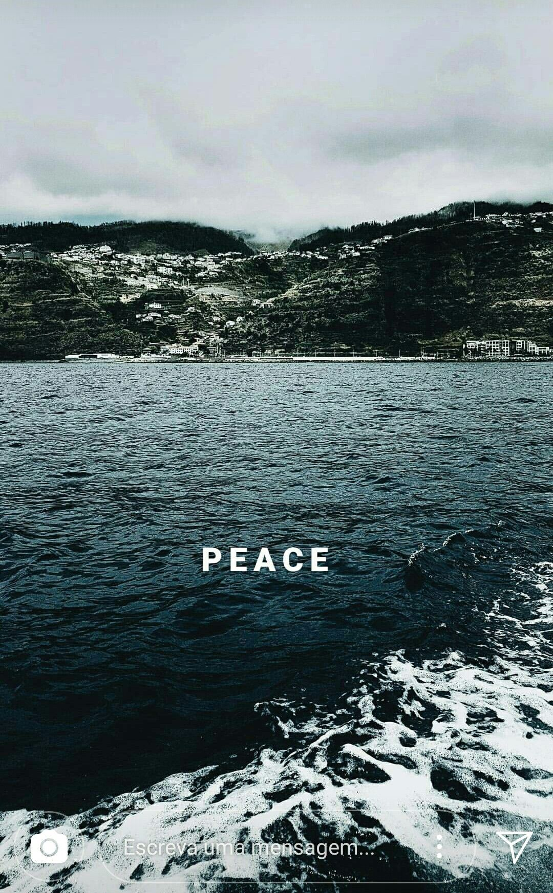 peace wallpaper Wallpaper quotes Aesthetic wallpapers Phone 1080x1745