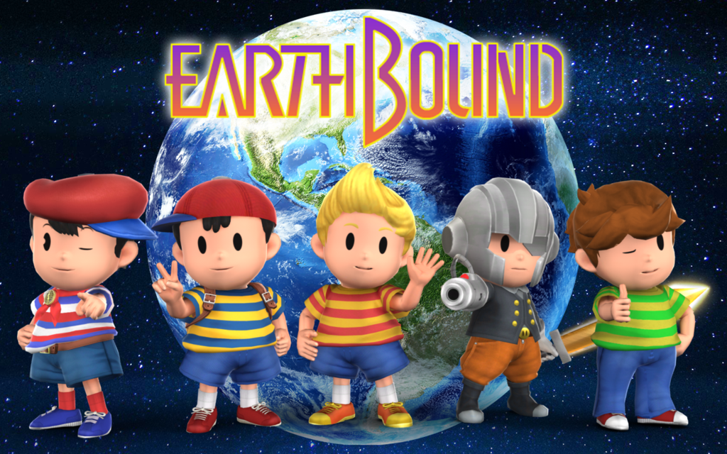 Earthbound Wallpaper Smash Earthbound Wallpaper by 1024x640