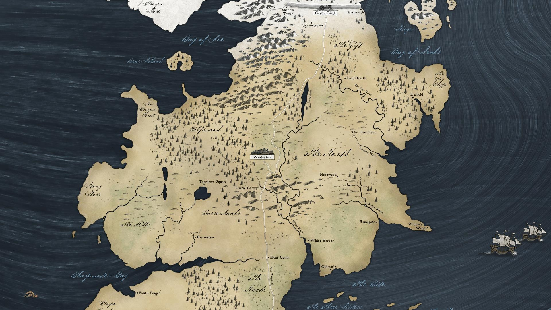 Map of westeros wallpaper wallpapersafari - Westeros map high resolution ...