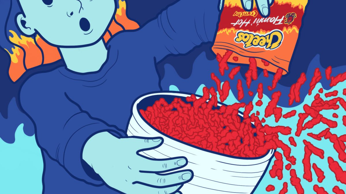 I tried very hard to cook with Flamin Hot Cheetos 1200x675