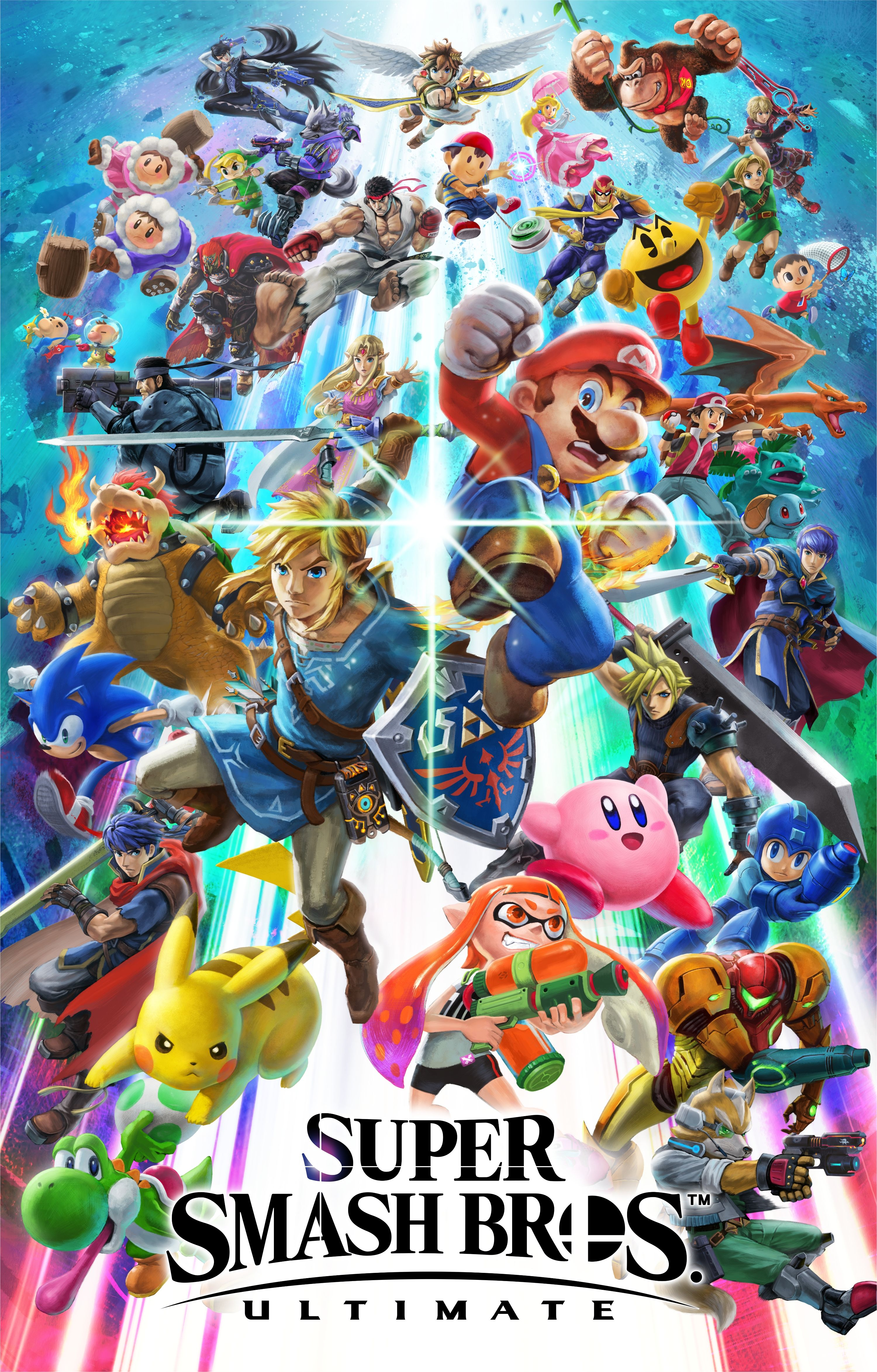 Free Download High Resolution Smash Bros Ultimate Artwork