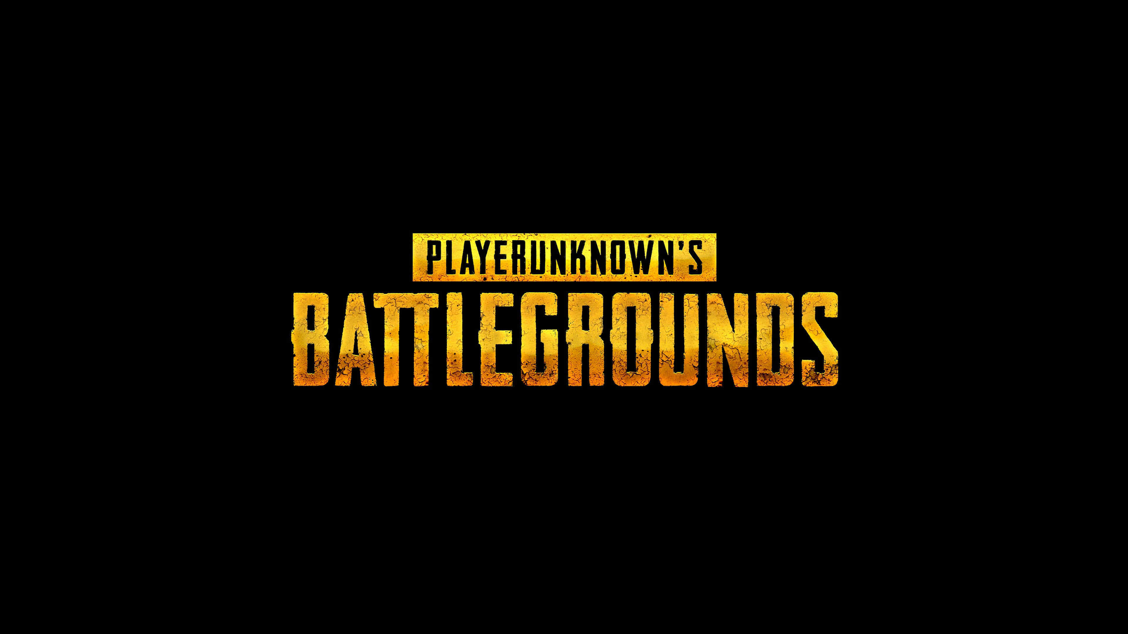 PUBG Player Unknown Battlegrounds Logo UHD 4K Wallpaper Pixelz 3840x2160