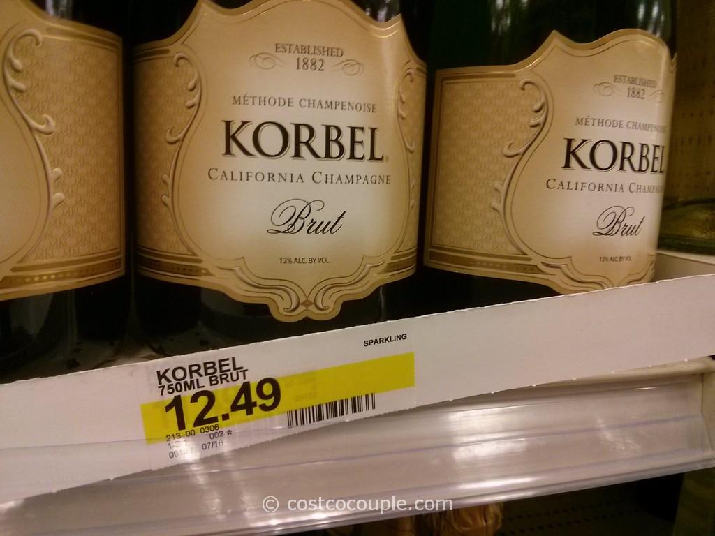 Korbel Brut Costco vs Target 1024x768