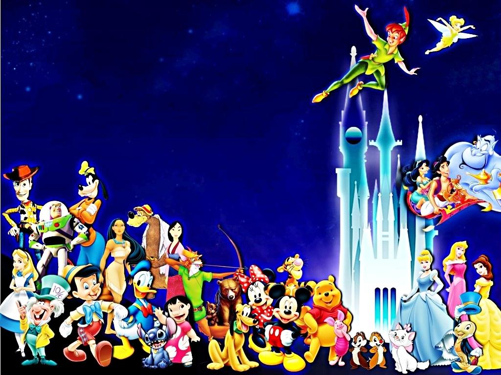 Walt Disney Wallpapers Walt Disney Characters walt disney characters 1024x768
