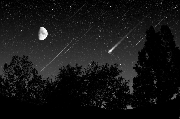 night rain stars moon shooting star skyscapes skies 1400x933 wallpaper 600x399