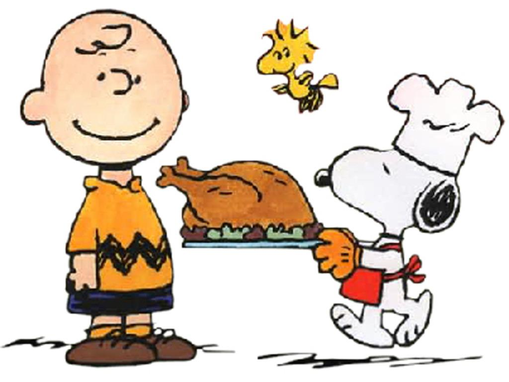 image thanksgiving charlie brown snoopy wallpaper pazf for term side 1024x768